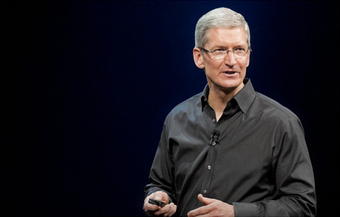 Apple CEO Tim Cook. (Photo credit: Apple)